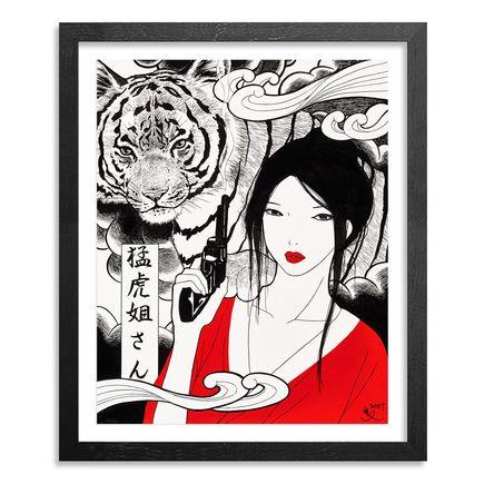 Yumiko Kayukawa Original Art - Original Artwork - Sister Tigress - Mouko Neesan