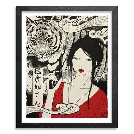 Yumiko Kayukawa Art Print - Sister Tigress - Mouko Neesan