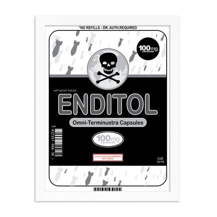 Denial Art Print - Enditol 100mg - Quarantine Print Collection
