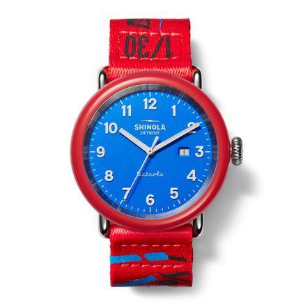Alexander-John Clothing - I Voted Detrola by Shinola - Limited-Edition Timepiece