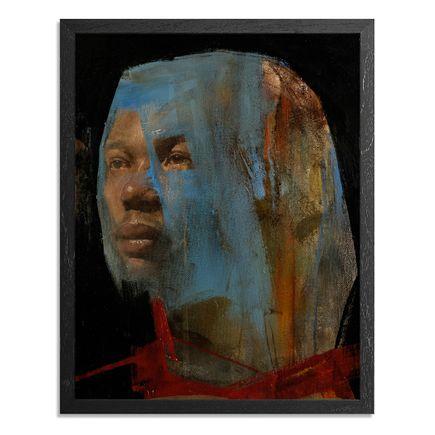 Adam Caldwell Art Print - Blue Veil #1 - Framed Original Artwork