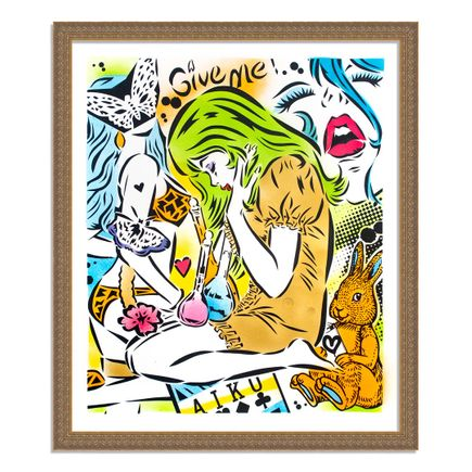 Aiko Art Print - Emotions - Green Variant