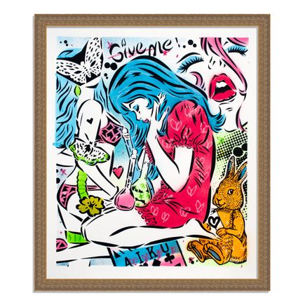 Aiko Art Print - Emotions - Hand-Painted Multiple - 04