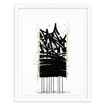 Bisco Smith Art Print - Take Risks - Hand-Embellished Edition - 04