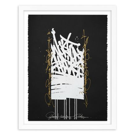 Bisco Smith Art Print - World Shift - Hand-Embellished Edition - 04