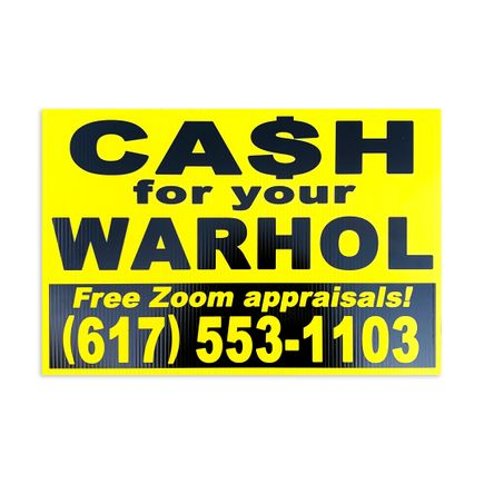 Cash For Your Warhol Art Print - Free Zoom Appraisals!