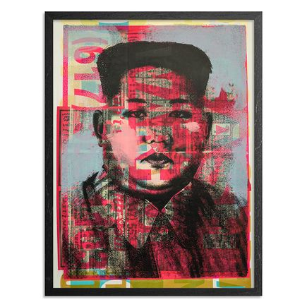 Cash For Your Warhol Art Print - Monoprint IV - CFYW Kim Jong-un