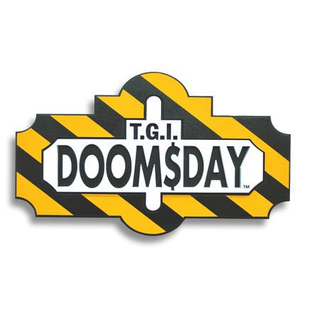 Denial Original Art - Thank God It's Doomsday