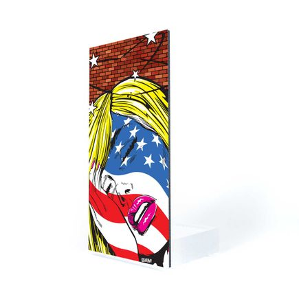 Denial Art Print - Ughhhmerica - Welcome Wall