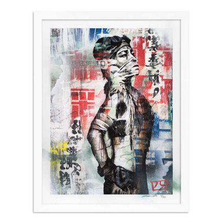 Eddie Colla Art Print - 4 of 40 - Without Excuse - Hand-Embellished Edition