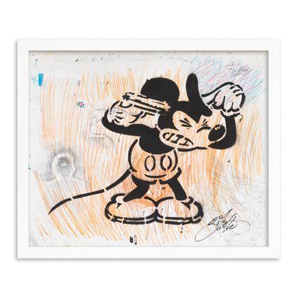 Jeff Gillette Original Art - 03 - Mickey Suicide - Part II - Hand-Painted Multiples