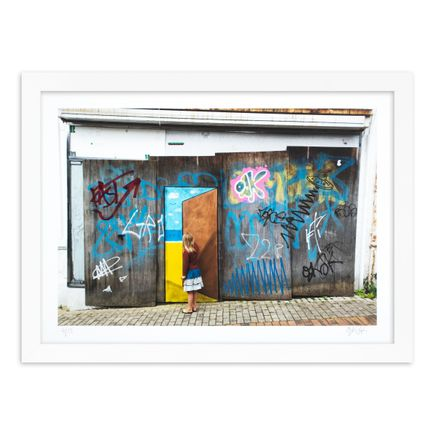 OakOak Art Print - 4 of 15 - Escape Door - Hand-Painted Multiple