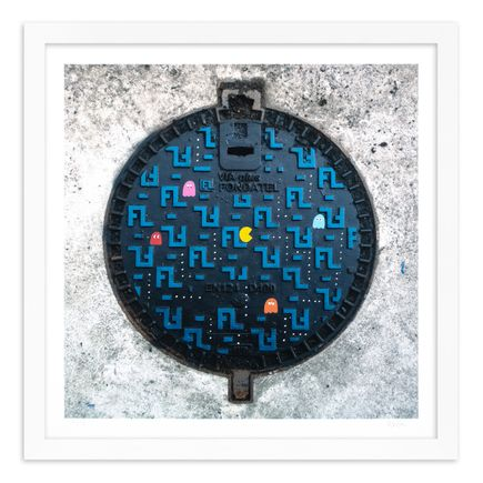 OakOak Art Print - 4 of 15 - Pac Man: Level I - Hand-Painted Multiples