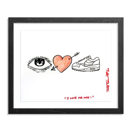 Sheefy Original Art - I Love Air Max I - Original Artwork