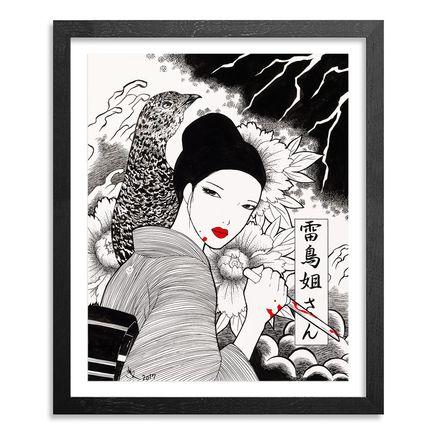 Yumiko Kayukawa Original Art - Original Artwork - Sister Thunderbird - Raichou Neesan