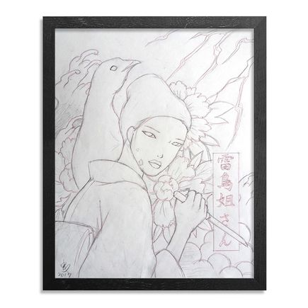 Yumiko Kayukawa Original Art - Original Sketch - Sister Thunderbird - Raichou Neesan