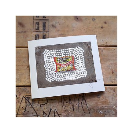 bachor Art Print - Ramen Noodles (Chicken) - 11 x 14 Inches - Open Edition Prints