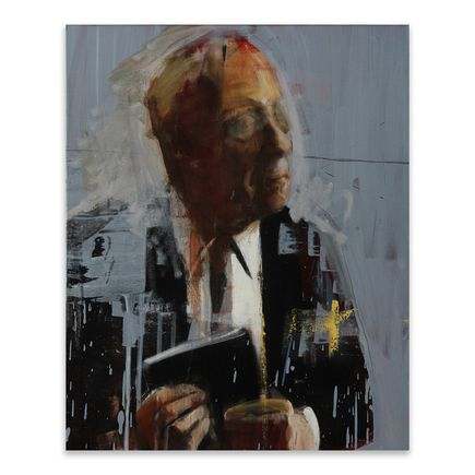 Adam Caldwell Original Art - Borges  - Original Artwork