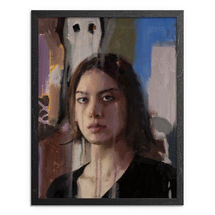 Adam Caldwell Original Art - Ivanna IV - Framed Original Artwork