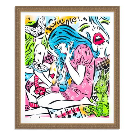 Aiko Art Print - Emotions - Hand-Painted Multiple - 05