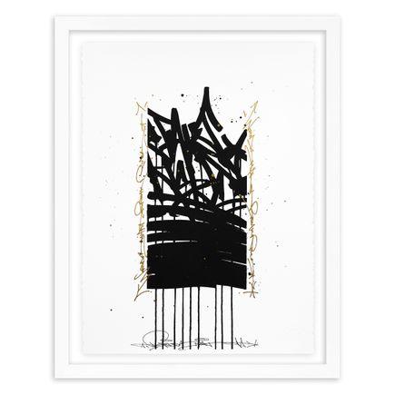 Bisco Smith Art Print - Take Risks - Hand-Embellished Edition - 05