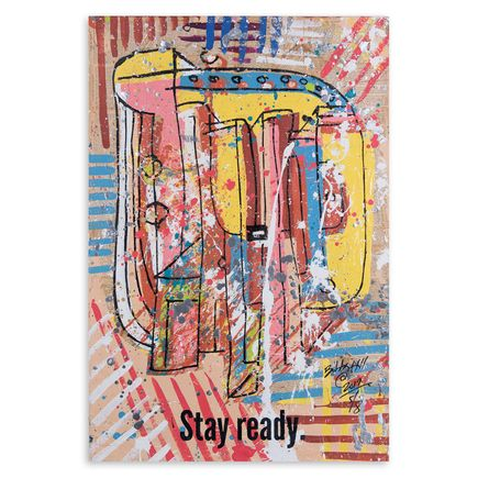 Bobby Hill Original Art - Stay Ready V