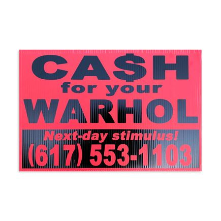 Cash For Your Warhol Art Print - Next-Day Stimulus!