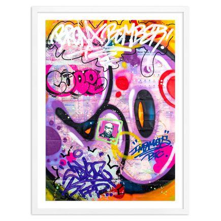 Cope2 Original Art - Original Artwork - New York City Subway Map III - 05