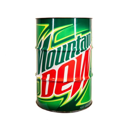 Denial Original Art - Mountain Toxic Waste Barrel