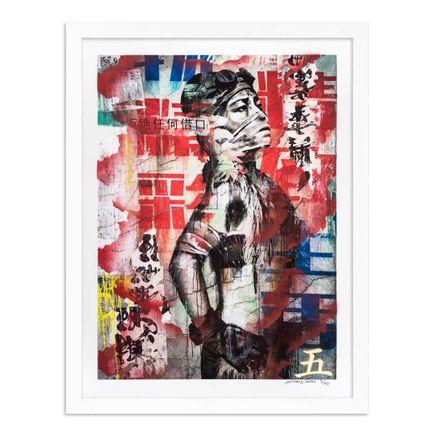 Eddie Colla Art Print - 5 of 40 - Without Excuse - Hand-Embellished Edition