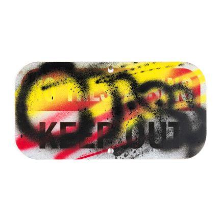Hael Original Art - Keep Out - II