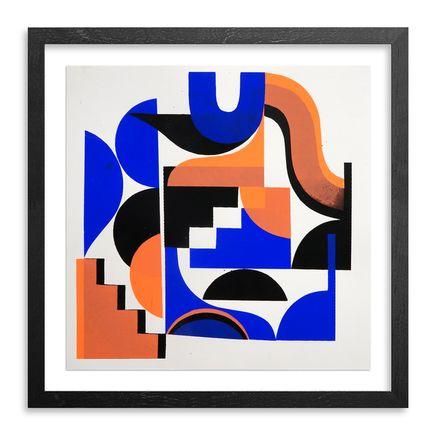 Jessie & Katey Original Art - Monoprint VII - Original Artwork