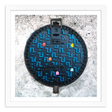 OakOak Art Print - 5 of 15 - Pac Man: Level I - Hand-Painted Multiples