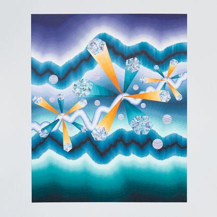 Rebekka Borum Original Art - A Crack in Cosmos - Original Artwork