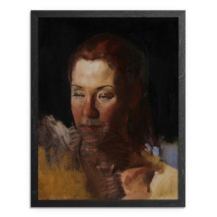 Adam Caldwell Art - Left - Framed Original Artwork
