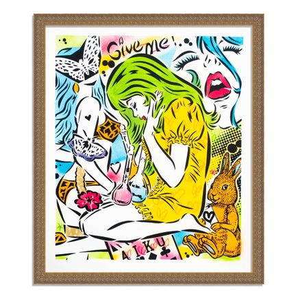 Aiko Art Print - Emotions - Hand-Painted Multiple - 06