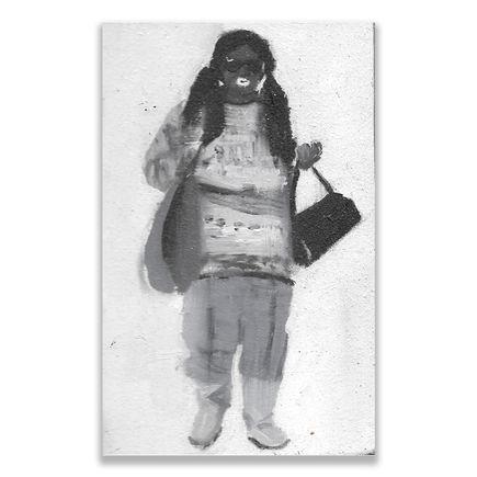 Brett Amory Original Art - Lil Waiter VI