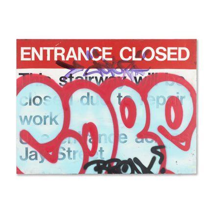 Cope2 Original Art - Entrance Closed - Original Artwork