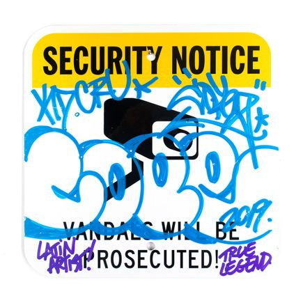 Cope2 Original Art - Security Notice