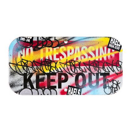 Hael Art Print - Keep Out - III