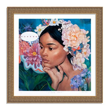 Helice Wen Art Print - A Garden Within - Hand-Embellished Edition - Variant VI