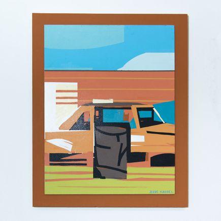 Jesse Kassel Original Art - Original Artwork - Burn Barrel