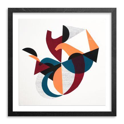 Jessie & Katey Original Art - Monoprint IX - Original Artwork