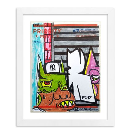 Noxer 907 Original Art - Postal Slap - 06