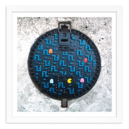 OakOak Original Art - 6 of 15 - Pac Man: Level I - Hand-Painted Multiples