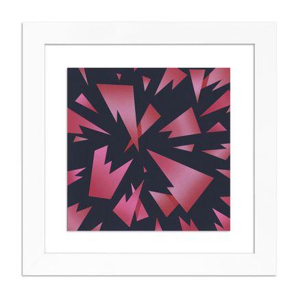 Michael Polakowski Original Art - Abandoned Fragments in Red