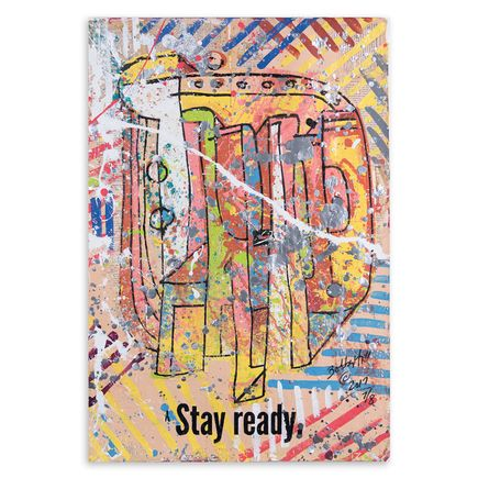 Bobby Hill Original Art - Stay Ready VII