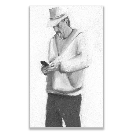 Brett Amory Original Art - Lil Waiter VII