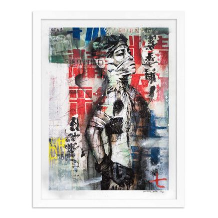 Eddie Colla Art Print - 7 of 40 - Without Excuse - Hand-Embellished Edition