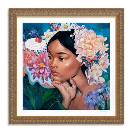 Helice Wen Art Print - A Garden Within - Hand-Embellished Edition - Variant VII